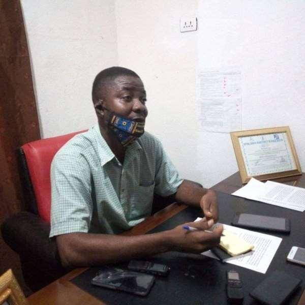 IDI Boss Dixon reading the statement