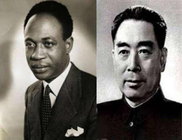 Kwame Nkrumah and Zhou Enlai