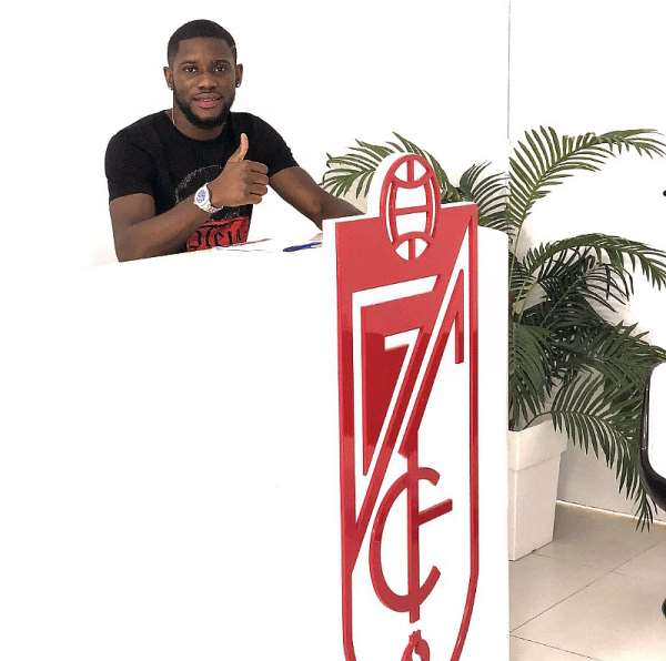 Elated Kingsley Fobi Anxious To Start Playing For New Club Granada