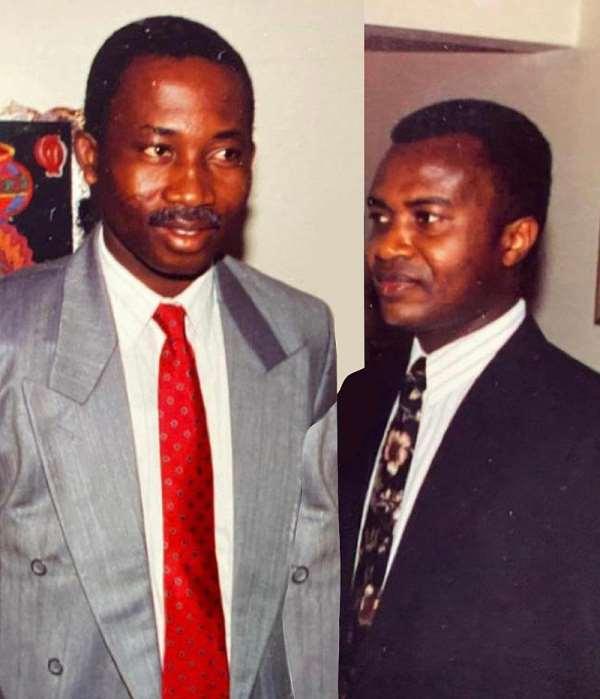 Stephen Ntim tribute to late Supreme Court judge Samuel Marful-Sau