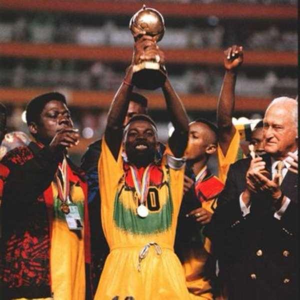 Ecuador '95 World Cup: FIFA Celebrate Ghana For U-17 World Cup Triumph