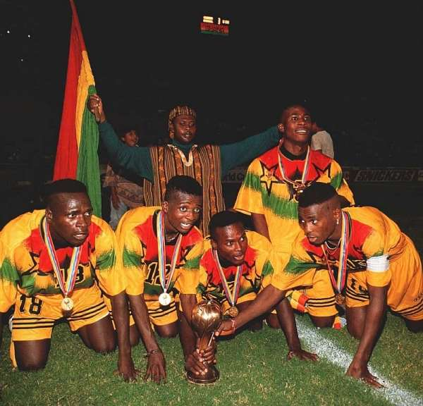 '95 U-17 FIFA World Cup: Ghana Won The Tournament With Over-Aged Player, Says Member Of Black Starlets Team