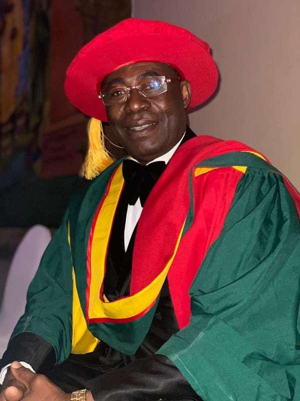 Dr. Brown Konadu Receives Eminence Honours For Fight Against COVID-19