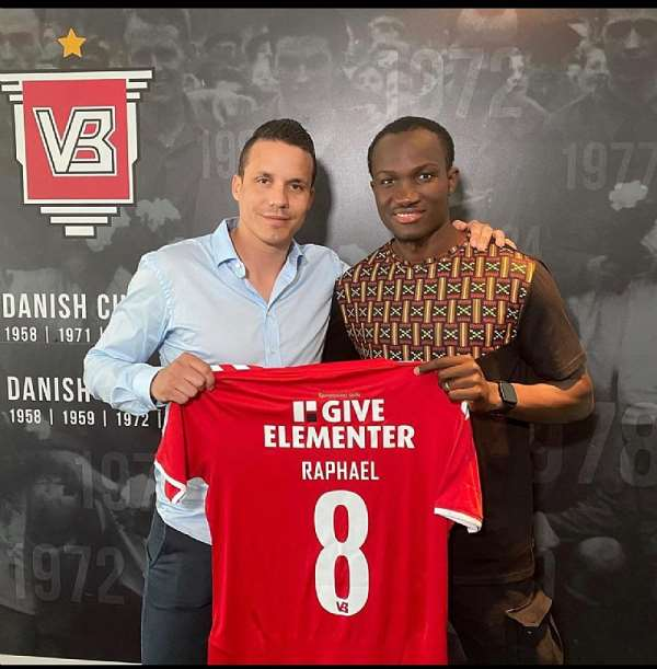 Ghana Striker Raphael Dwamena Seals Transfer To Danish Club Vejle Boldklub
