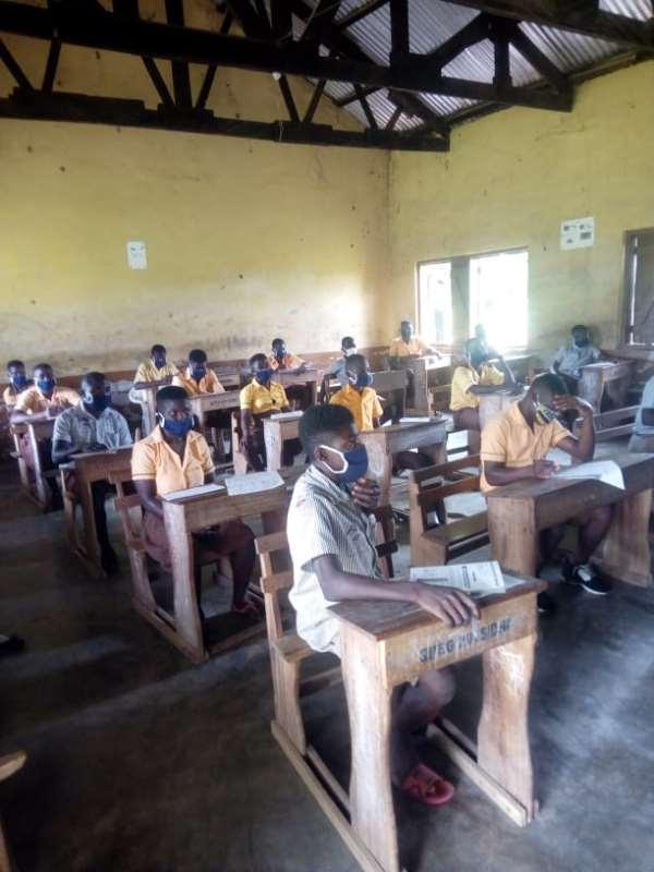Daffiama-Bussie-Issa MP Organizes Mock Exams For BECE Candidates