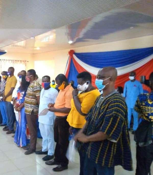 NPP Inaugurates Ahafo Regional Campaign Team For 2020 Elections