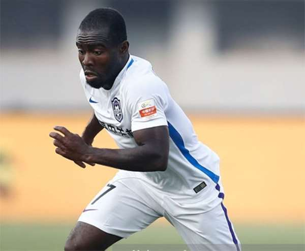 It's A Great Honour To Be Named Captain Of Tianjin TEDA – Frank Acheampong