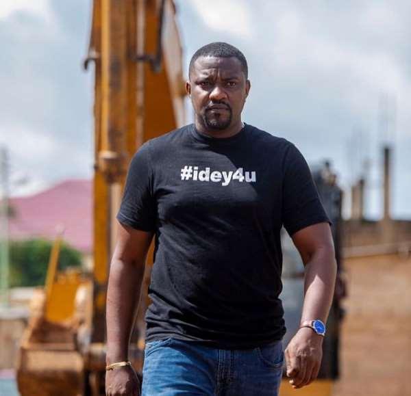 John Dumelo Is An Opportunist Who Doesn't Belong To NDC, Tracy Boakye Is Better—Baffour