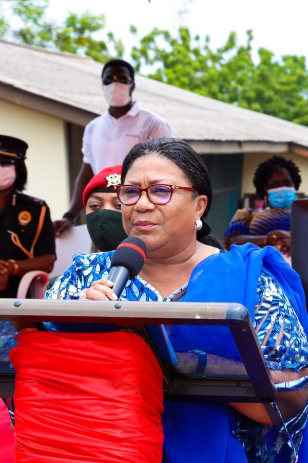 First Lady Donation To Teshie, Nungua And Osu Homowo Festivities