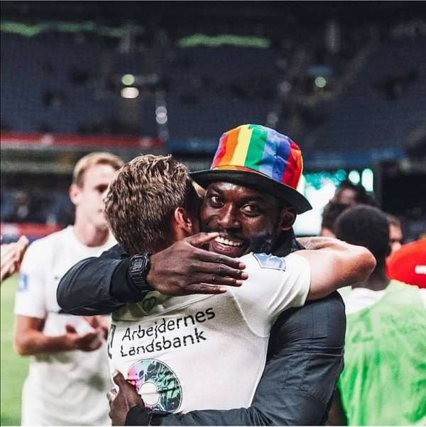 Ghana legend Michael Essien offers solidarity to LGBTQ+ community [Photos]