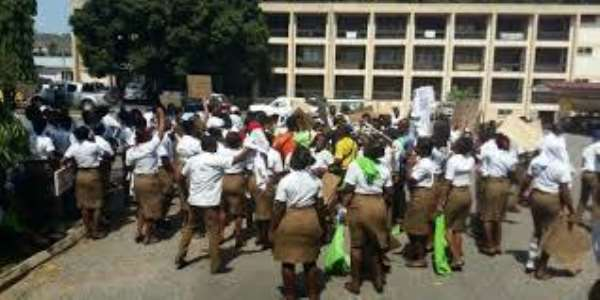 Finance Ministry Is Preparing To Pay Your Allowance – Sanitation Ministry Assures Schools Of Hygiene Students