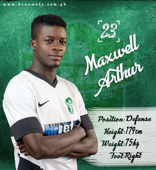 Youngster Maxwell Arthur Elates After Signing New Contract At Dreams FC