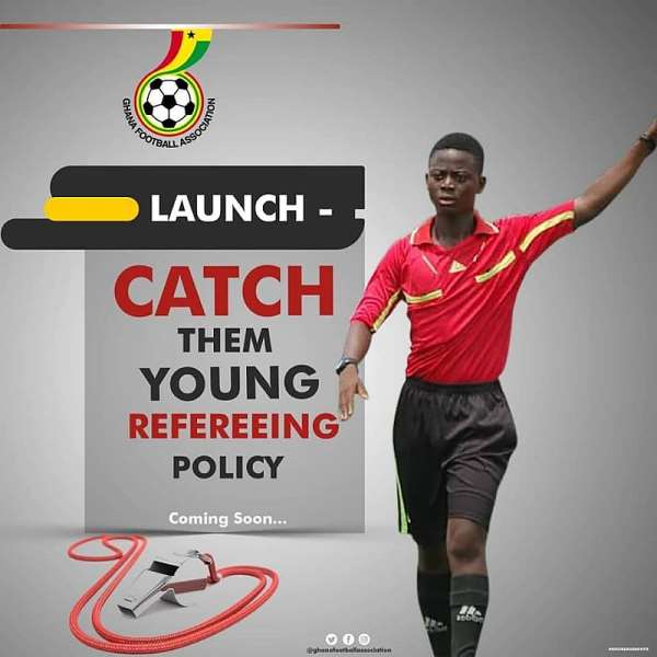 Ghana FA To Soon Launch 'Catch Them Young' Referee Policy