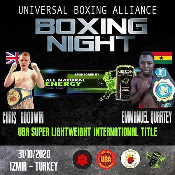 Pray For Me - Emmanuel Quartey Implores Ghanaians Ahead Of  Universal Boxing Alliance International Title Bout