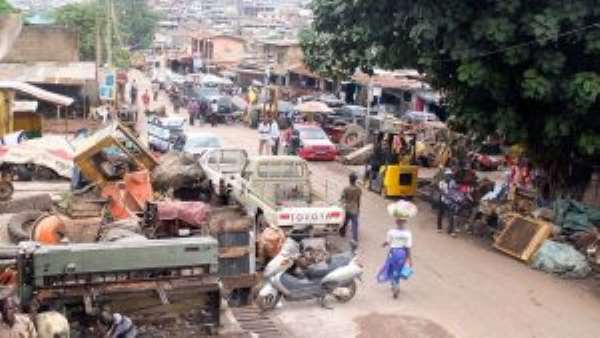 Ghanaians Allegedly Attack Nigerian Retailers At Suame