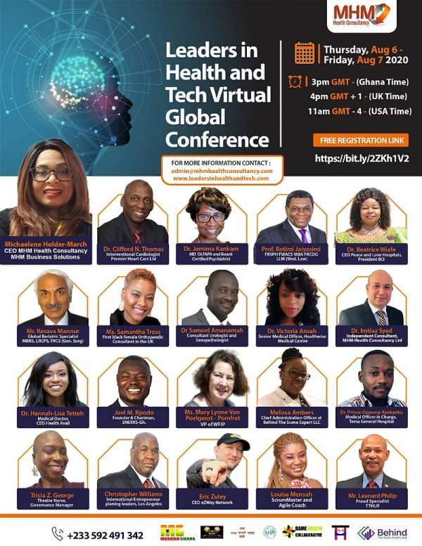 Leaders In Health And Tech 2020 Global Virtual Summit
