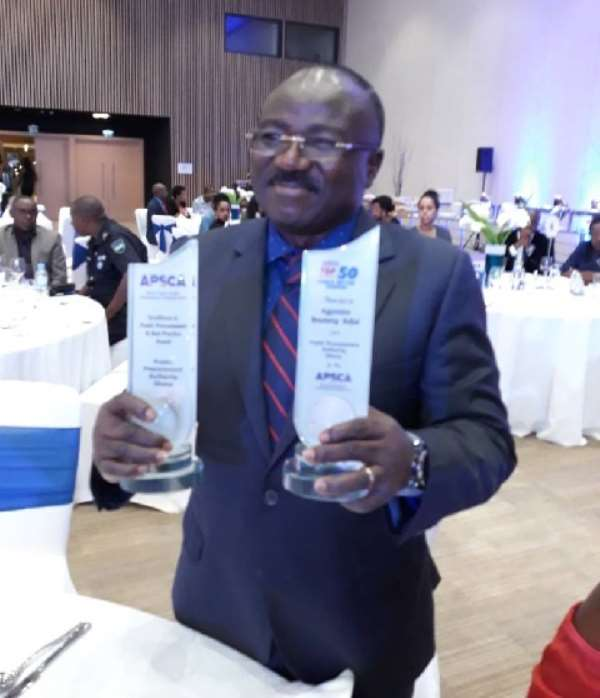 A.B. Adjei, the CEO of Public Procurement Authority (PPA)