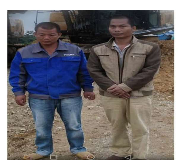 Two Chinese Arrested For Galamsey In Diaso