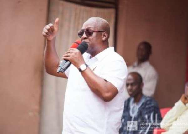 Akufo-Addo Gov't Using Regulations To Silence The Media – Mahama