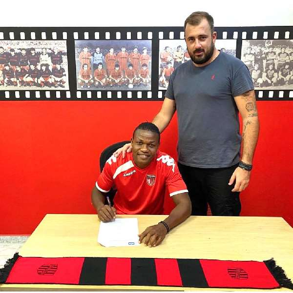 Albert Bruce happy to sign two-year deal at Greek side Panachaiki FC