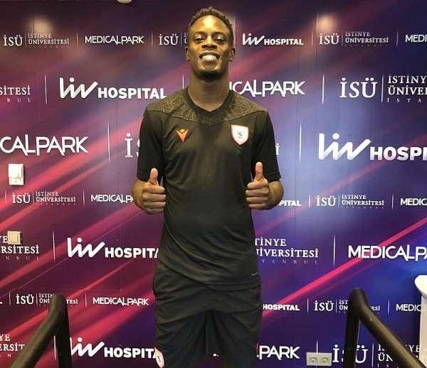 Samsunspor Unveil Ghana Winger Edwin Gyasi [PHOTOS]