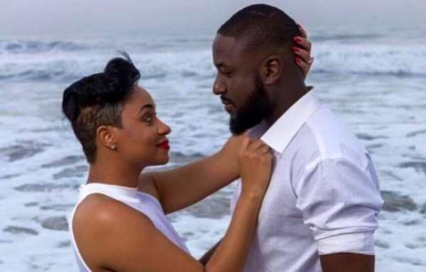 Check out celebrity tailor Elikem Kumordzie's  message to his ex wife on her birthday