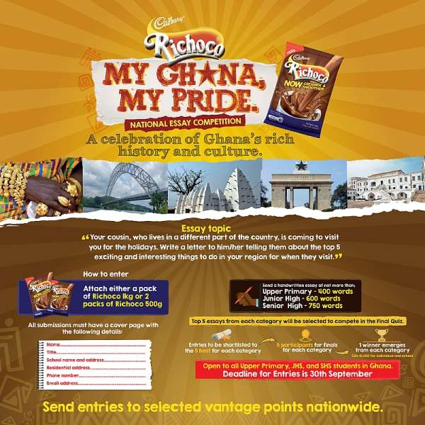Cadbury Ghana Unveils National Essay Competition For Students