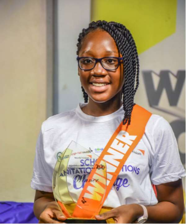 Neriah Tettey Of Silicon Valley Becomes Child Sanitation Ambassador After Winning Triple-S Challenge
