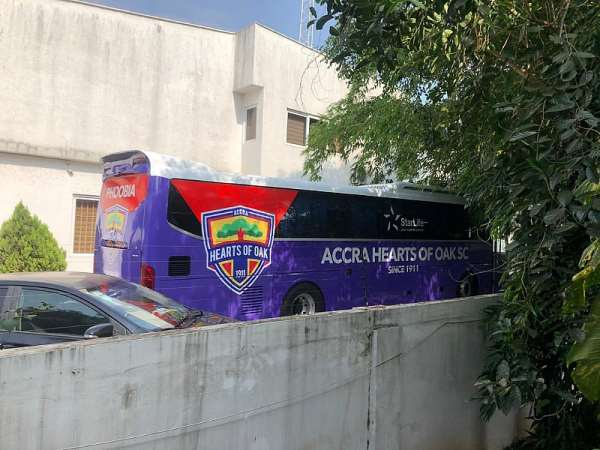 Hearts of Oak's New Bus Arrives; Official Unveiling In September