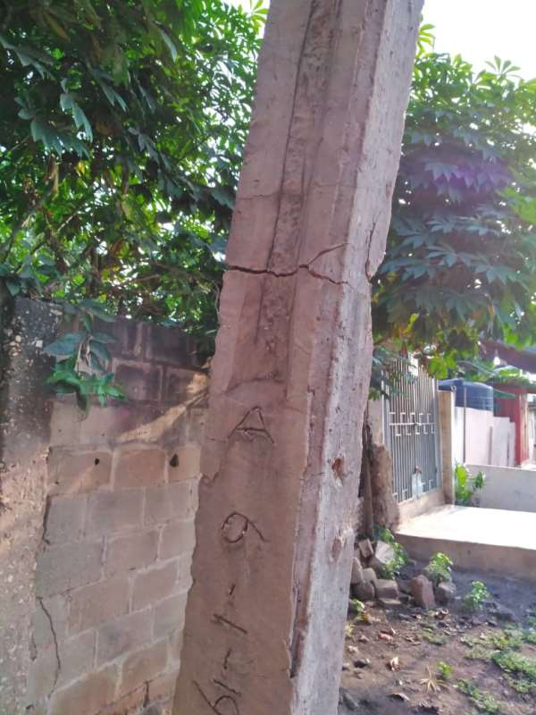 ECG Replaces 'Dangerous' Electricity Pole At Madina New Road After Social Media Report