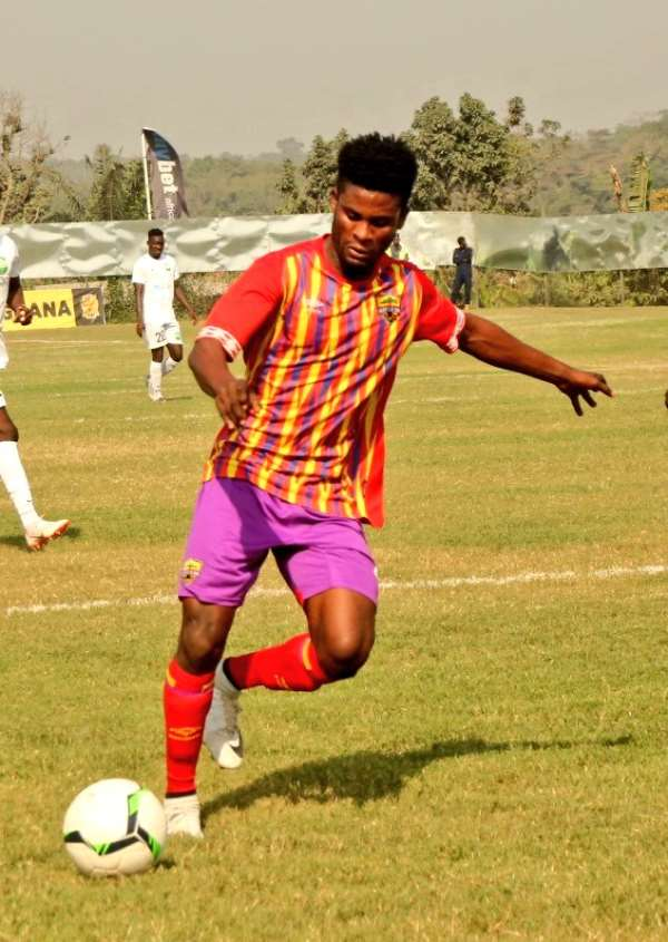 Hearts of Oak winger Daniel Afriyie Barnieh