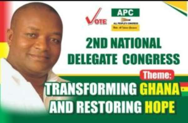 We Have A Task To End NPP, NDC Reigns---Hassan Ayariga Of APC Tells Newly Elected Executives
