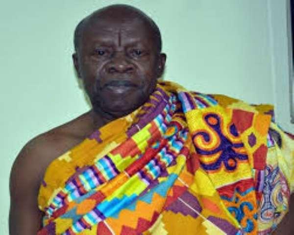 Ogyeahoho Yaw Gyebi, Paramount Chief of the Sefwi Bekwai Traditional Area