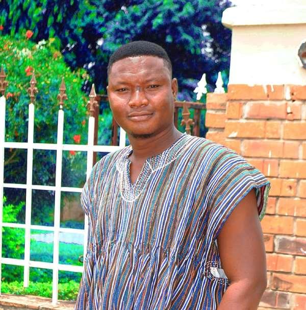 NDC Communications Officer for Kintampo South, Mr. Mathew Atanga