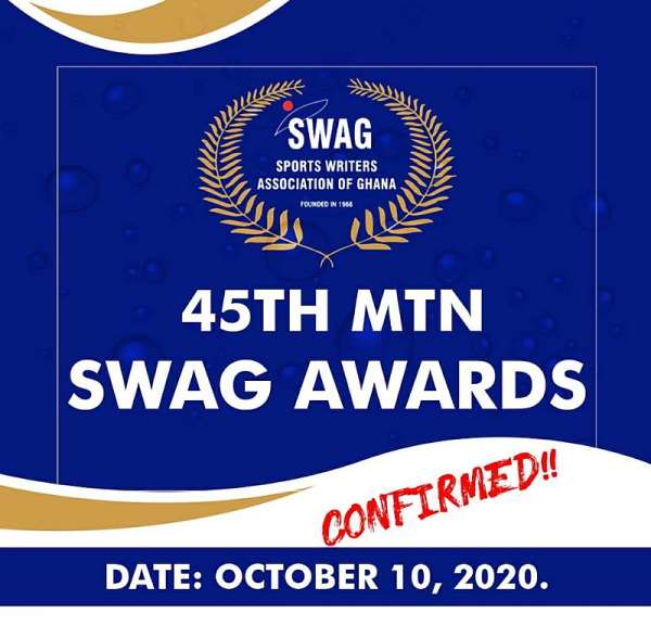 45th MTN SWAG Awards Set For October 10 At Alisa Hotel