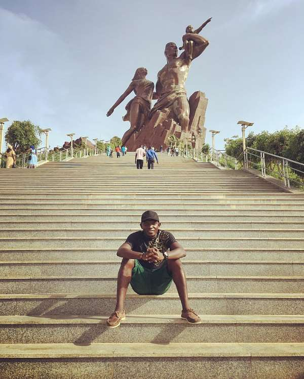 The Nima Boy In The Land Of The Tallest Statue