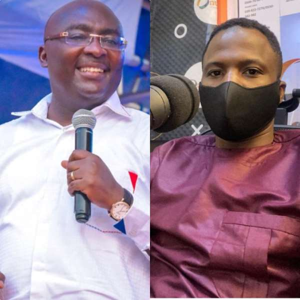 The creative arts industry needs a recording studio as promised by Bawumia – Attractive Mustapha (Video)