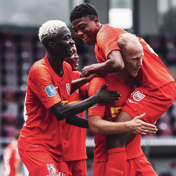 Francis Abu, 2 Other Ghanaians Score For FC Nordsjaelland In 5-4 Win Against HB Køge