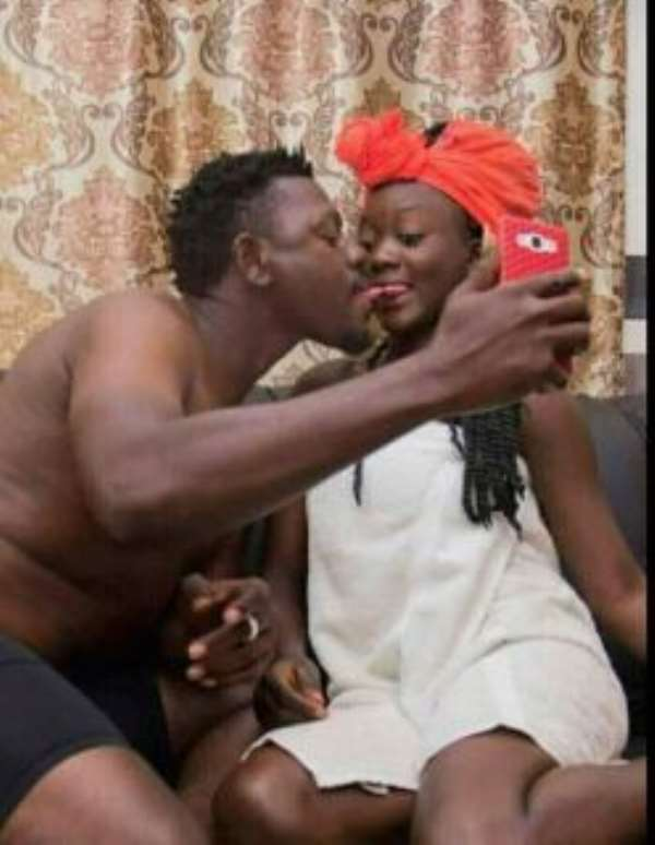 Aboriman and the married woman in a compromised position