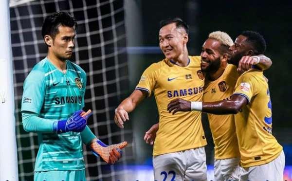 Mubarak Wakaso Provides Assist In Jiangsu Suning's Big Win Against Henan Jianye