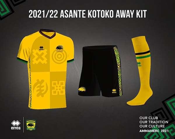 WATCH: Asante Kotoko release new away kit for 2021/2022 season [VIDEO]