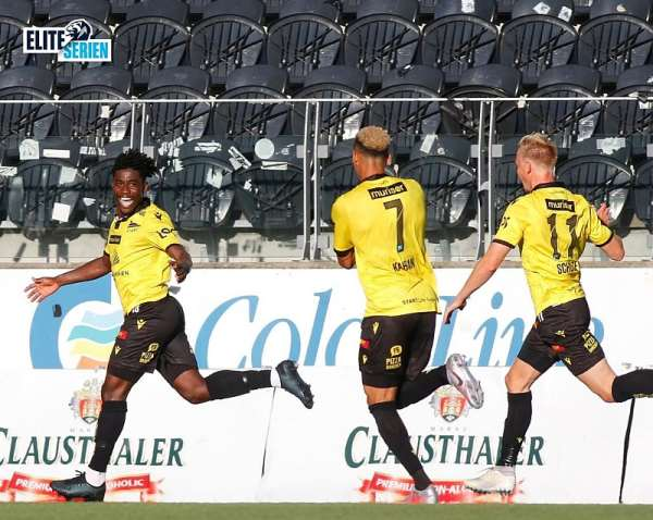 VIDEO: Watch Isaac Twum's Vital Equalizer For IK Start In Win Against Aalesund