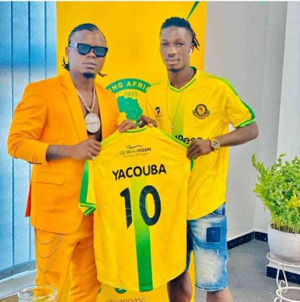 Yanga SC Unveil New Signing Sogne Yacouba