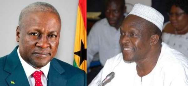Mahama Panics Over Bagbin And Other Candidates