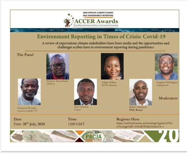 Fifth African Climate Change and Environment Reporting (ACCER) Awards launched