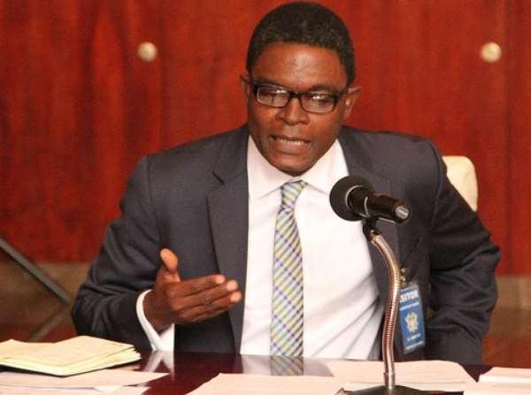 Dr Emmanuel Akwetey — Executive Director of the Institute for Democratic Governance (IDEG).