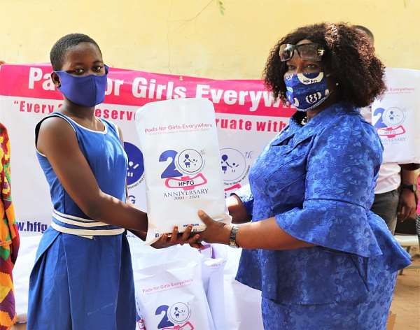 Hope For Future Generations Launches 3 Million Sanitary Pads Initiative