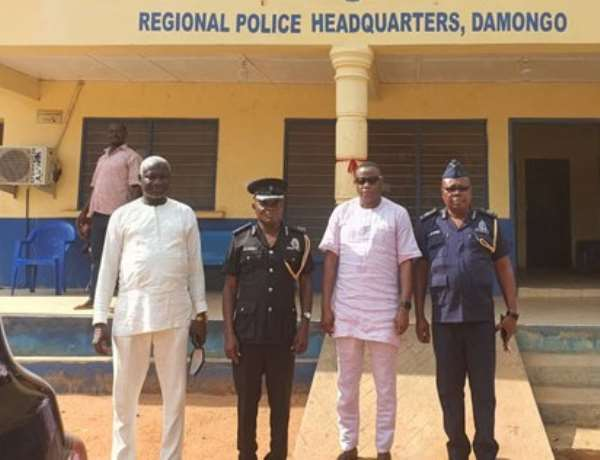 S/R: Minister visits Regional Police Commander over murder of Police woman