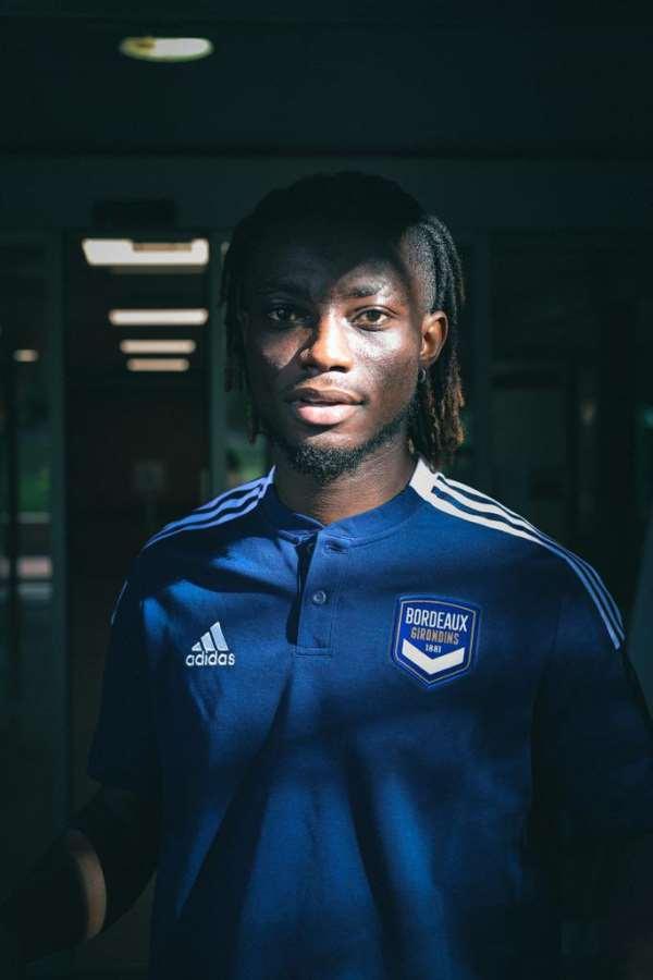 Ghana defender Gideon Mensah excited after sealing Bordeaux move