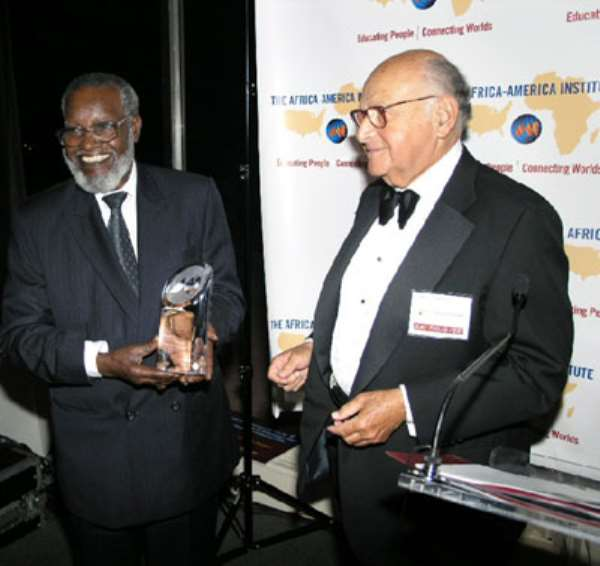 President Nujoma Honored